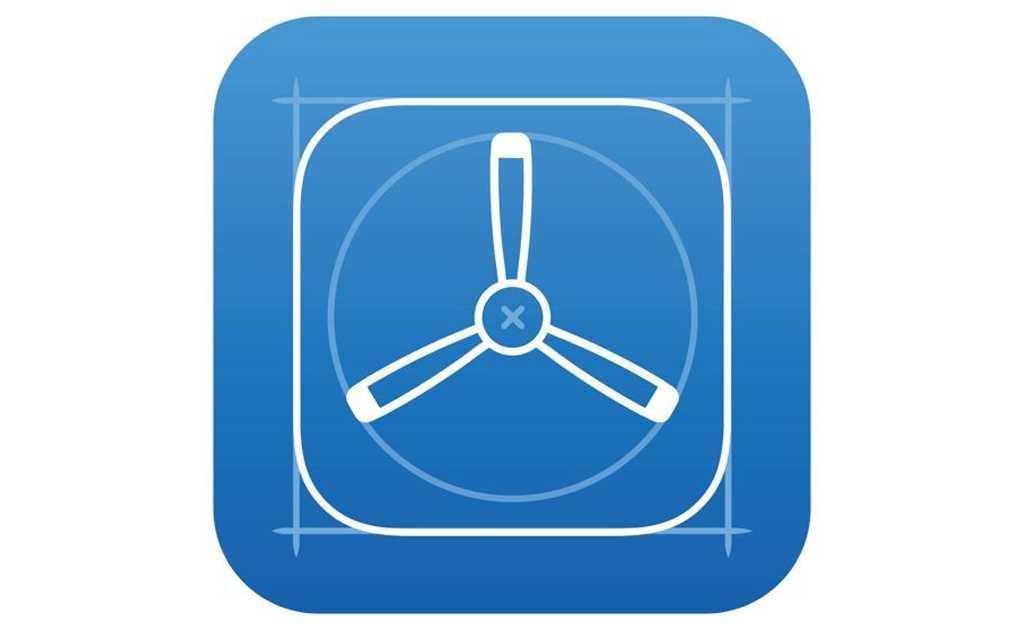 Test Flight iOS icon
