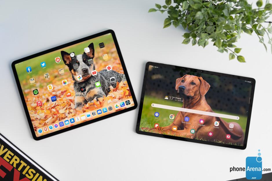 Apple iPad Pro (2021) vs Samsung Galaxy Tab S7