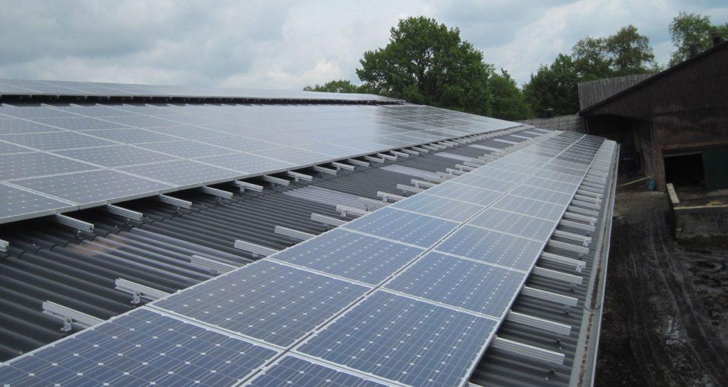 photovoltalgier Gewerbeanlage