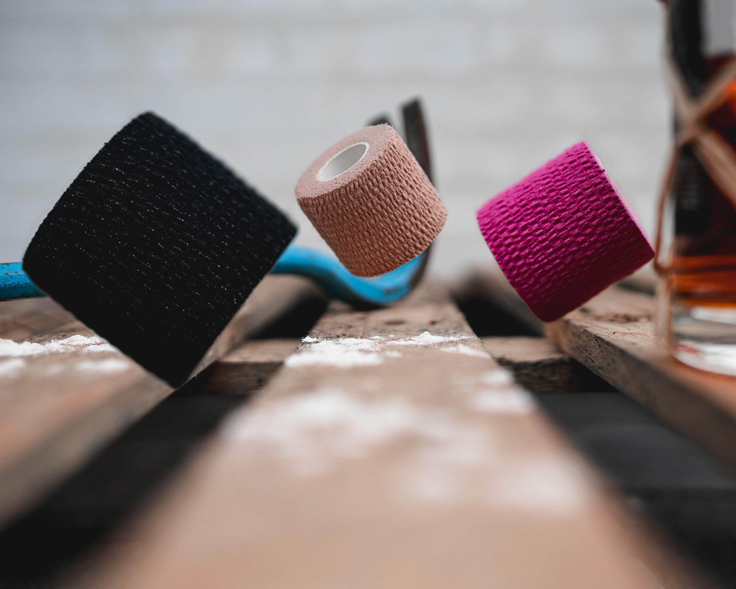 Sportstape til hookgrip i forskellige farver