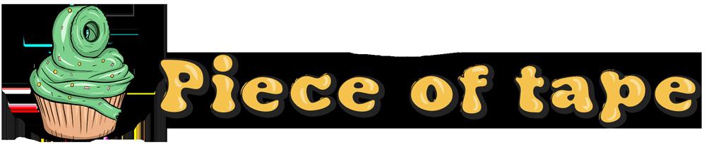 Piece of tape logo