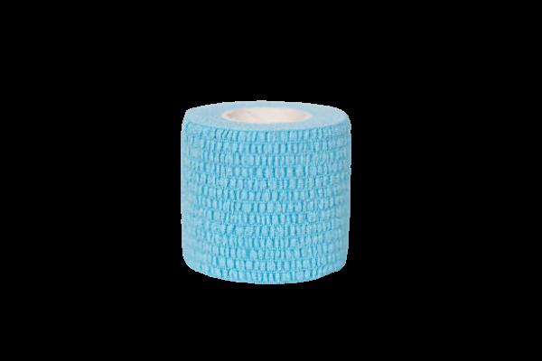 Lyseblå elastisk sportstape