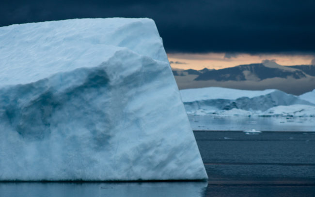 North pole Iceberg from the series Ice Cold, shot in Greenland photo: Piet van den Bemd