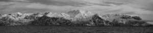 Winter panorama/landscape of Northern Norway arctic