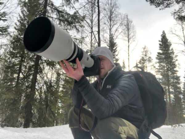 Wildlife Nature Photographer Working on Assignment Custom Video Photo Shoot Projects