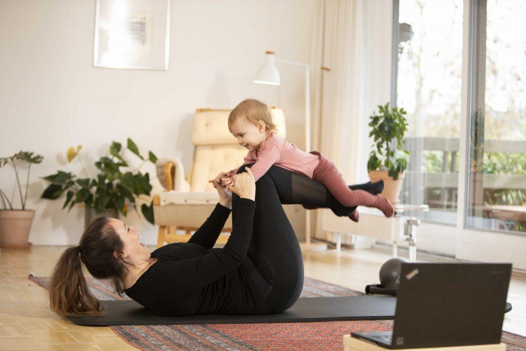 Efterfødselstræning med baby