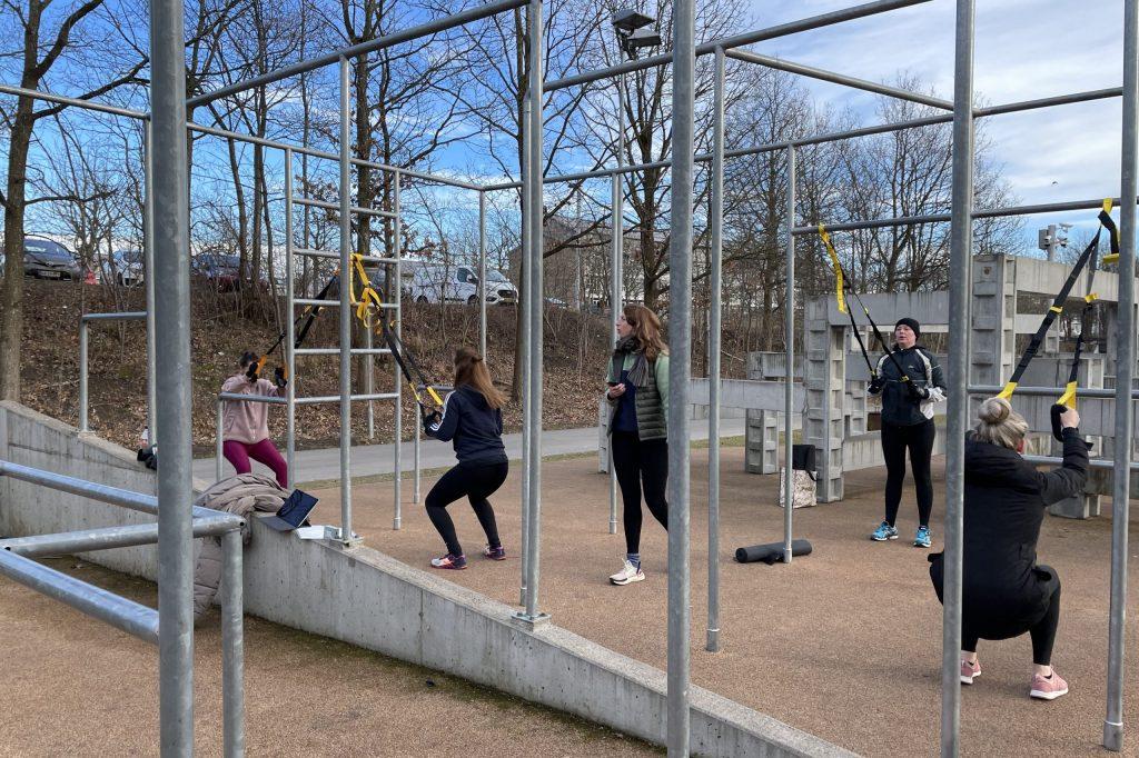 Udendørstræning TRX