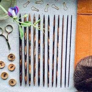 KnitPro lange strømpepinde 20 cm2
