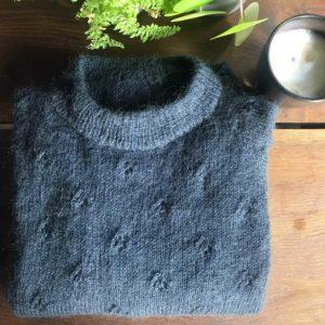 Mohair+nettles+wool - mohair garn - fortunes sweater - pindeliv