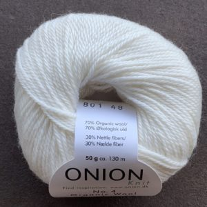 NO. 4 Organic Wool + Nettles - ONION - Pindeliv