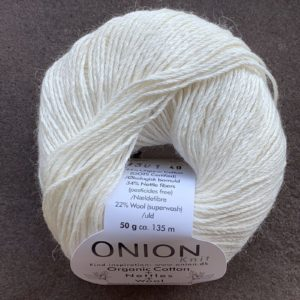 Organic Cotton + Nettles + Wool - GOTS cetificeret garn - ONION