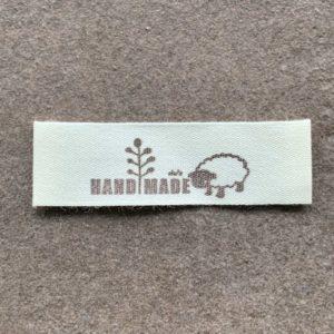 Handmade label til strikkeprojekter