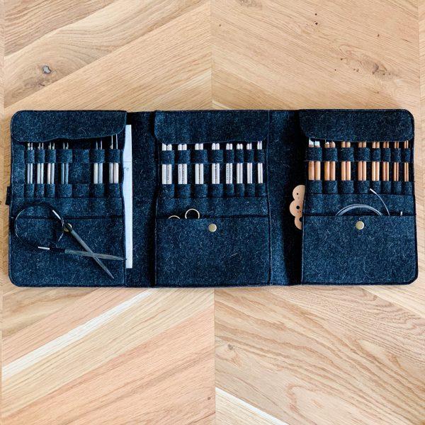 Knitters are artisans Mols etui til strikkepinde