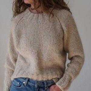 Strikkeopskrift - traditionel strik - charlotte pullover - sweater mohair - Pindeliv.