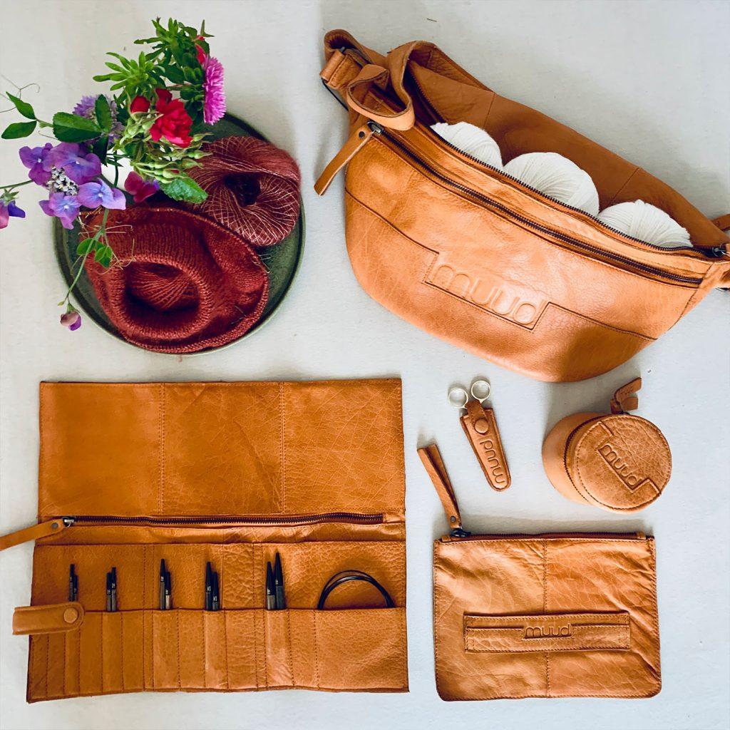muud tasker og etuier i ægte læder - pindeliv