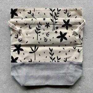 Alex Collins Design - medium projektpose, store blomster