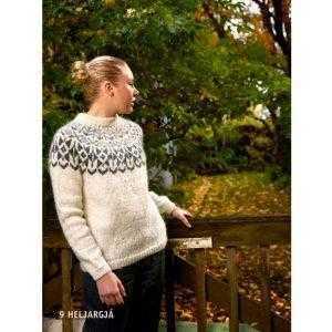Istex strikkeopskrfit islandsk sweater - Heljargjá - Pindeliv