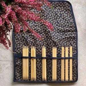 Seeknit strømpepindesæt - cherry blossom blue