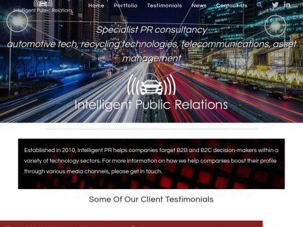 Intelligent PR Site