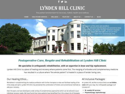 Site Design Lynden Hill Clinic