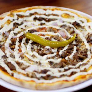 Kebab Pizzor