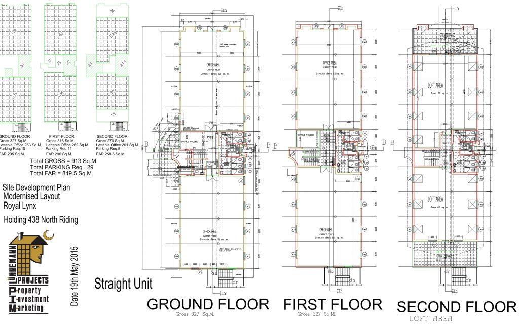 A3 S.D.P. Std Straightr Floor PLANS1
