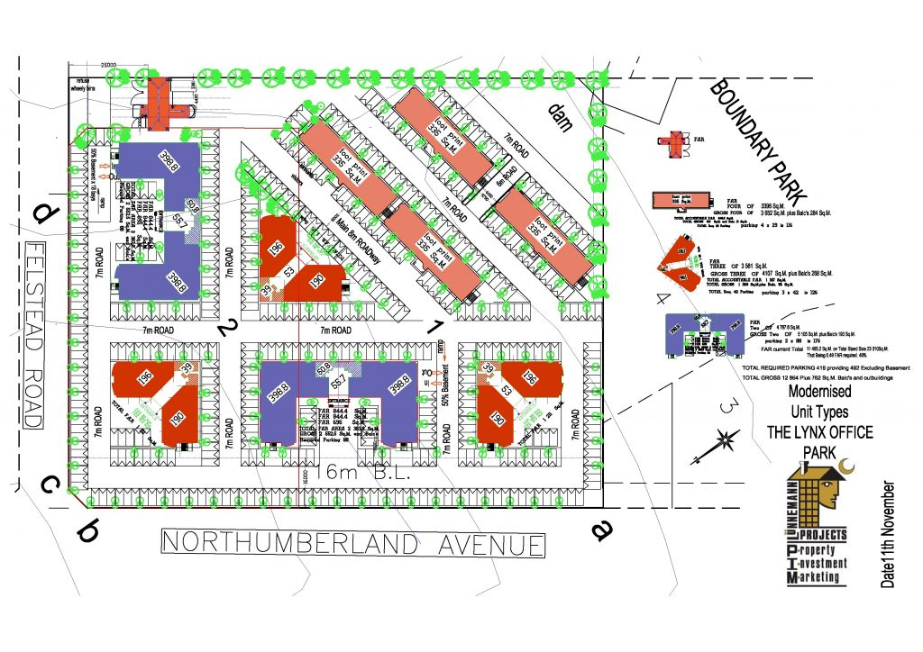 Site Plan Layout including Road reserve Sketch Plan 006