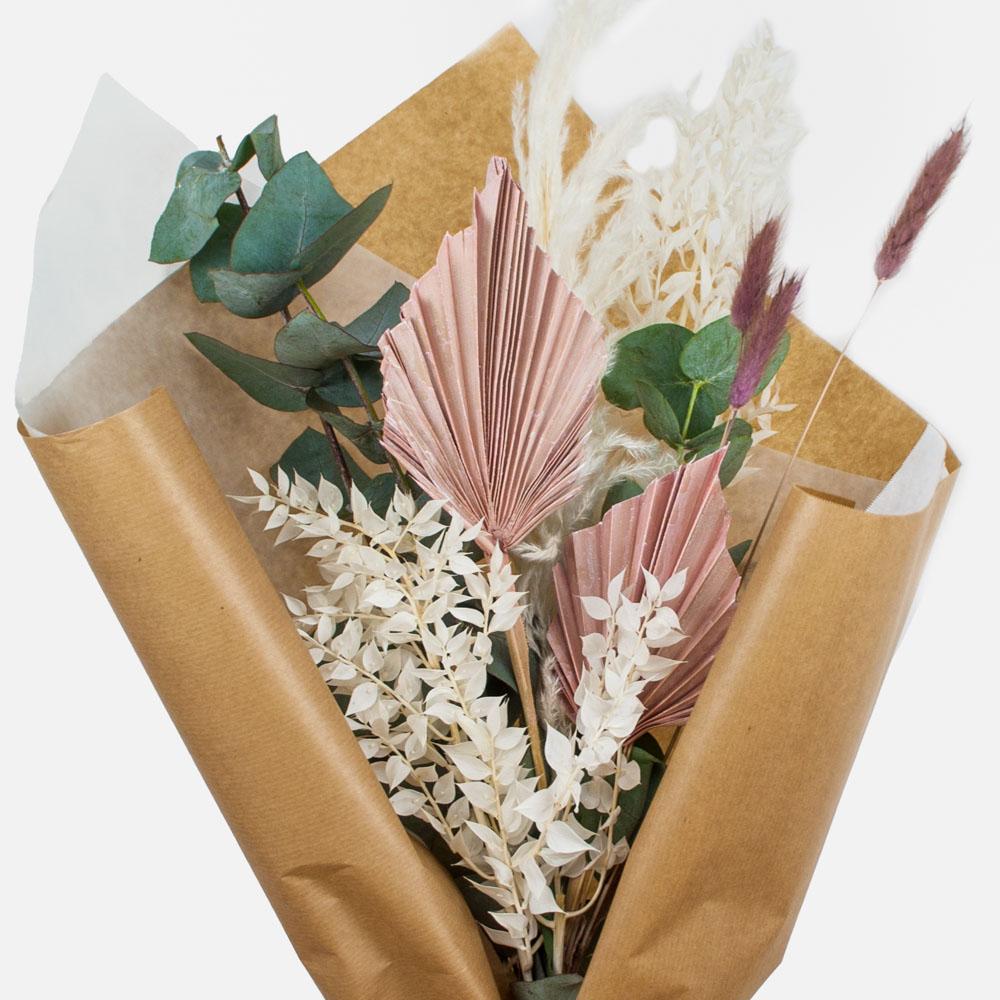 Dried Flower Bouquet Rasperry