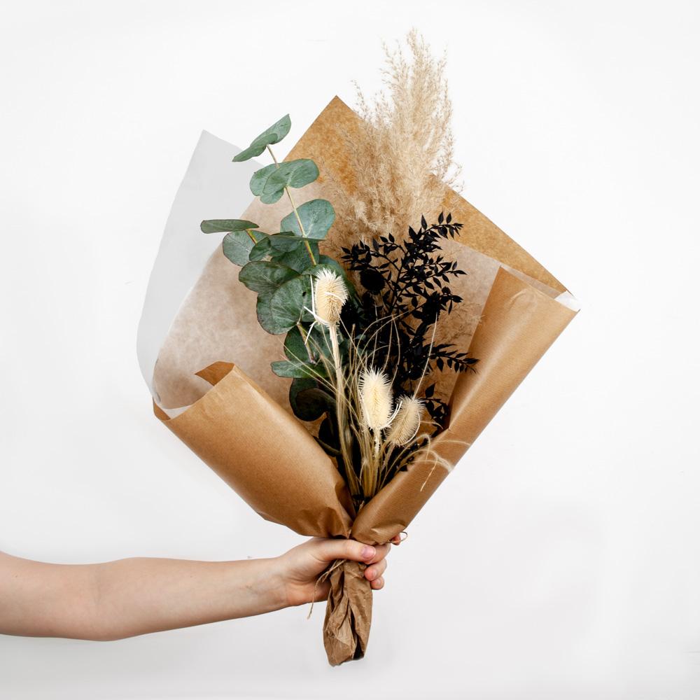 Dried Flower Bouquet Stracciatella