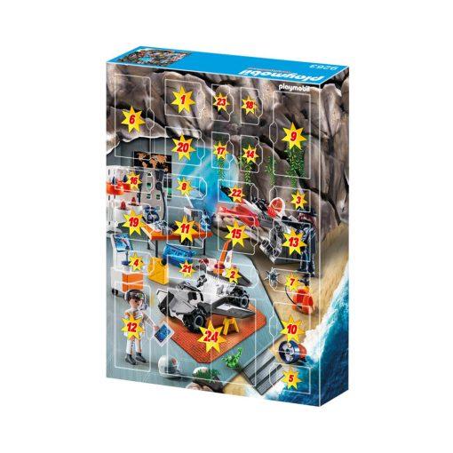 Playmobil Top Agents julekalender 9263