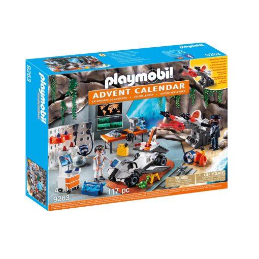 Playmobil Top Agents julekalender 9263 Spy Team værksted