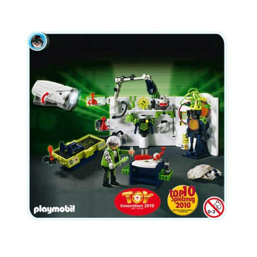 Playmobil Top Agents 4880 Robo Gangsters Laboratorium