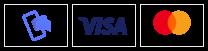 Mobilepay Visa og Mastercard