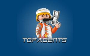 Playmobil Top agents legetøj aflang