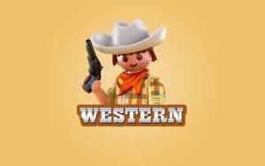 Playmobil Western legetøj aflang