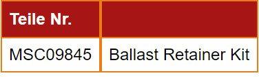 Ballast Retainer Kit