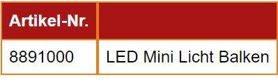 LED Mini Licht Balken