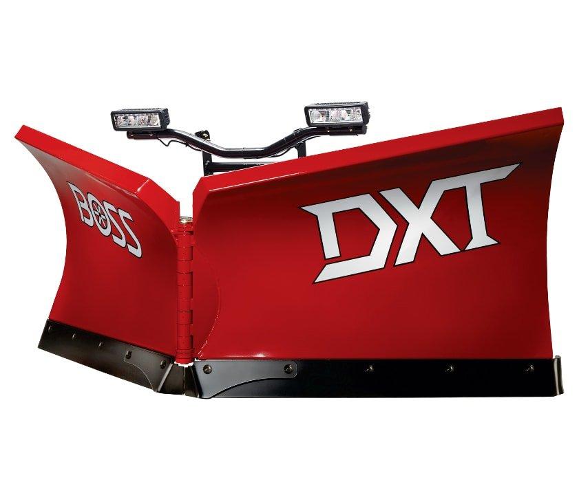 Schneepflug Power-V DXT-Serie Kunststoff Vorderseite 841x720-min