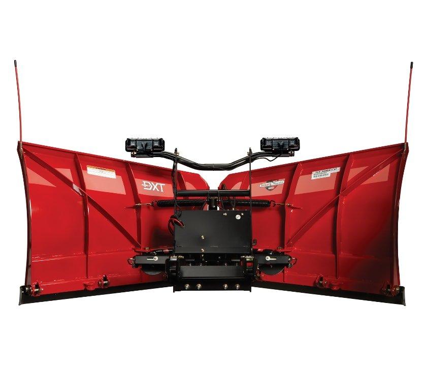 Schneepflug Power-V DXT-Serie Stahl Rückseite 841×720-min