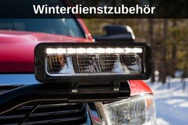 Winterdienstzubehör für Schneeschilder