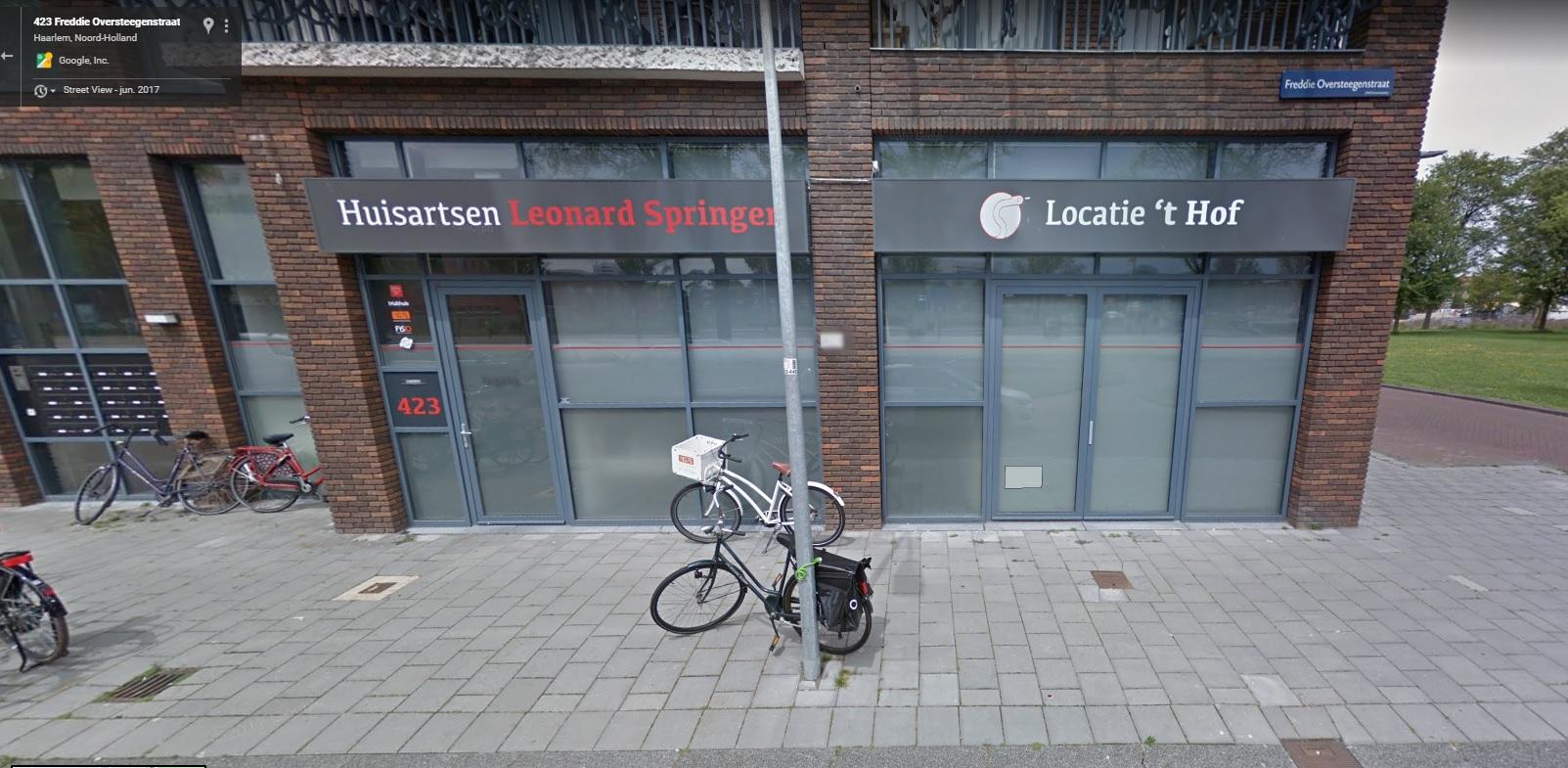 Podotherapie Haarlem 't Hof