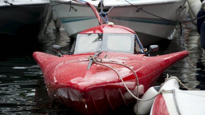 Båt, fly eller rakett? Eller en blanding?