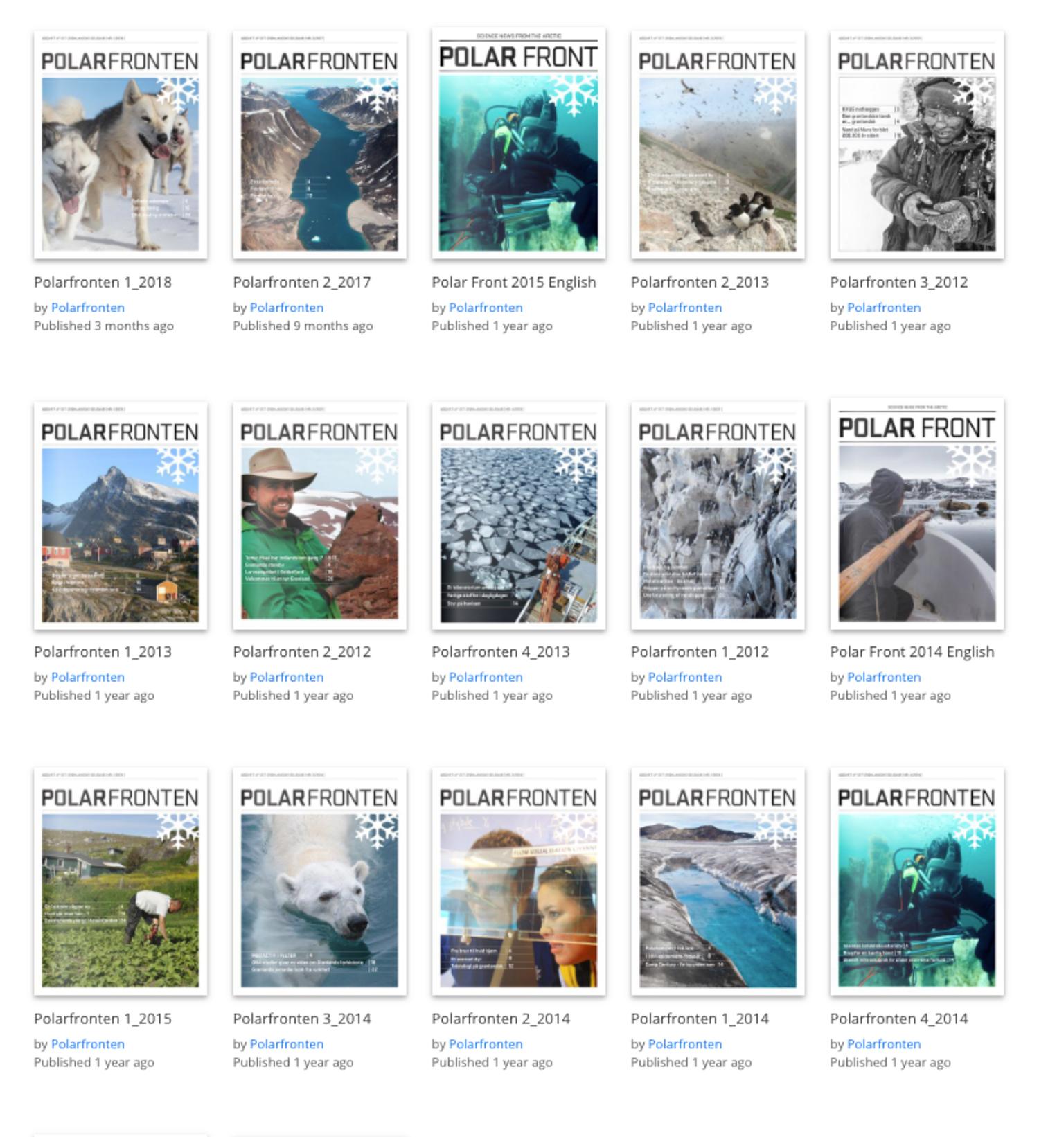 Polarfronten på Issuu.com/polarfronten