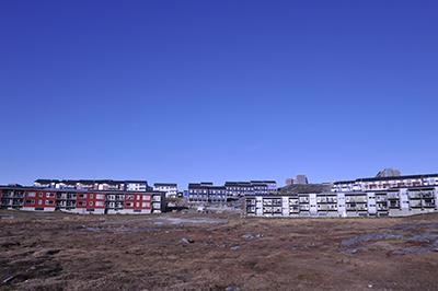 De lokale fortæller, at det er stedet de bor, der gør dem glade (Boliger, Nuuk 2019, arkivfoto: Uffe Wilken).