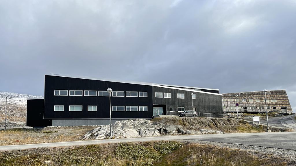Den Internationale Arktiske Forskningshub i Nuuk (foto: Nicoline Larsen).