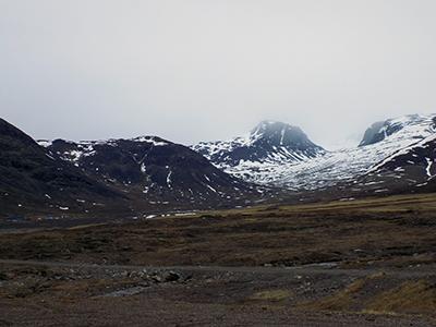 Placeringen af det foreslåede Kvanefjeld-projekt (foto: Forskningscenter for Arktisk Olie og Gas, 2017).