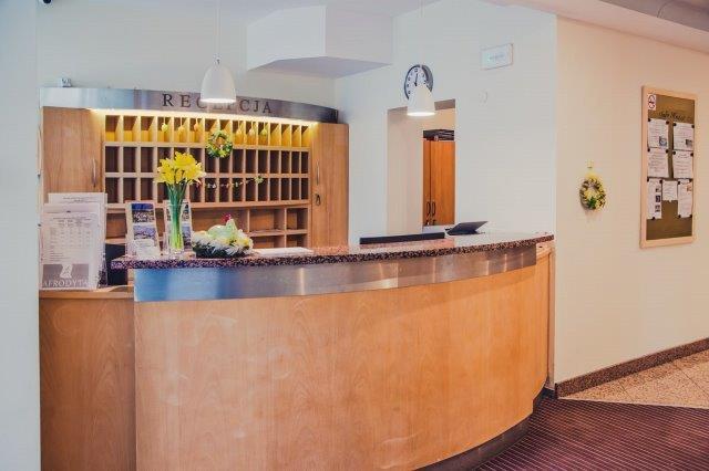 Hotell Atol-Receptionen