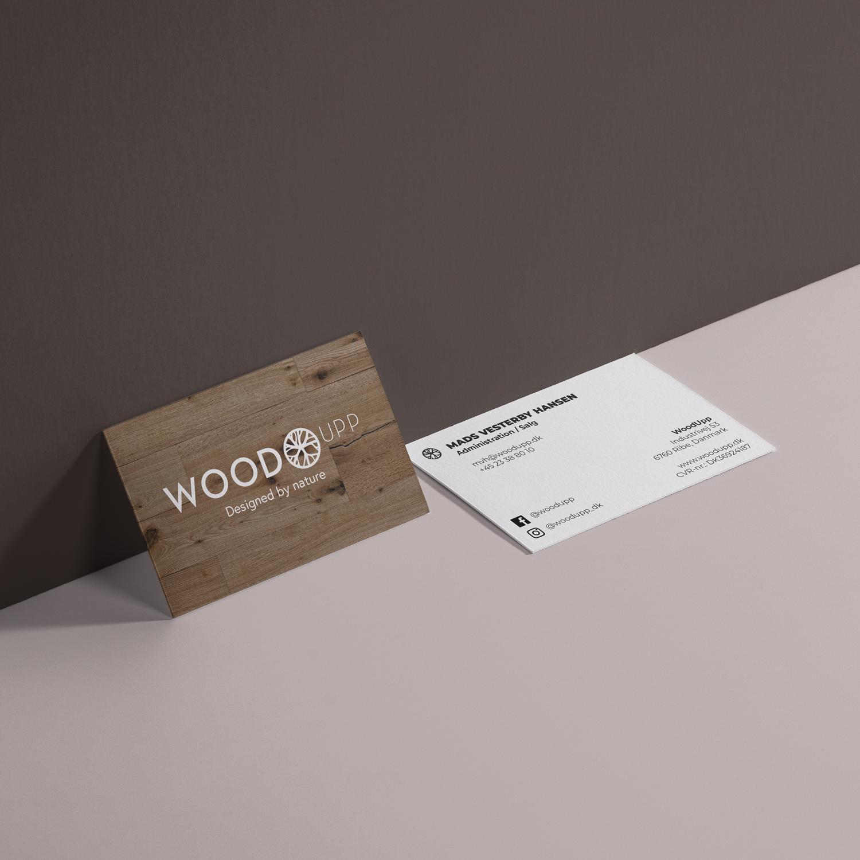 WoodUpp visitkort