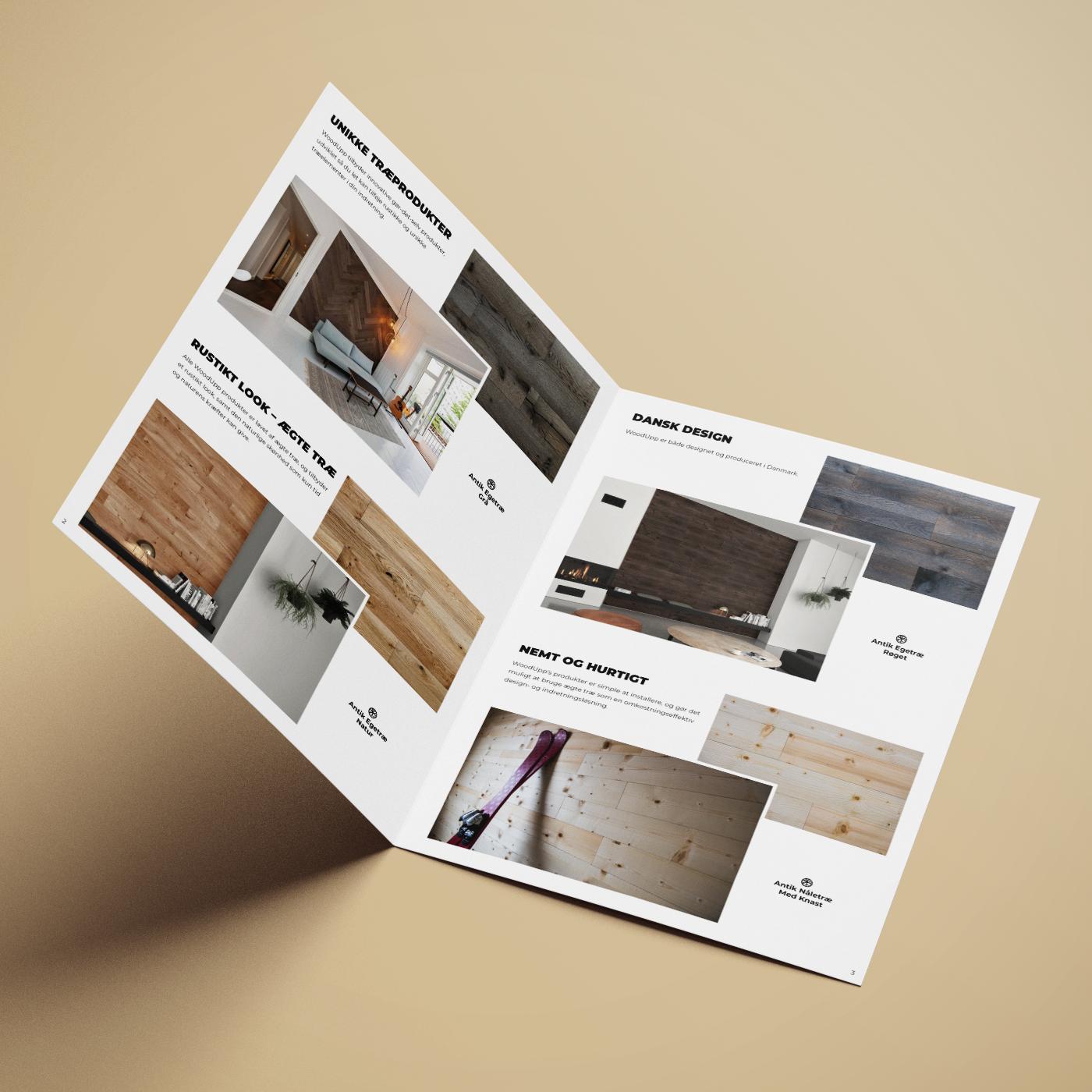 WoodUpp produktbrochure