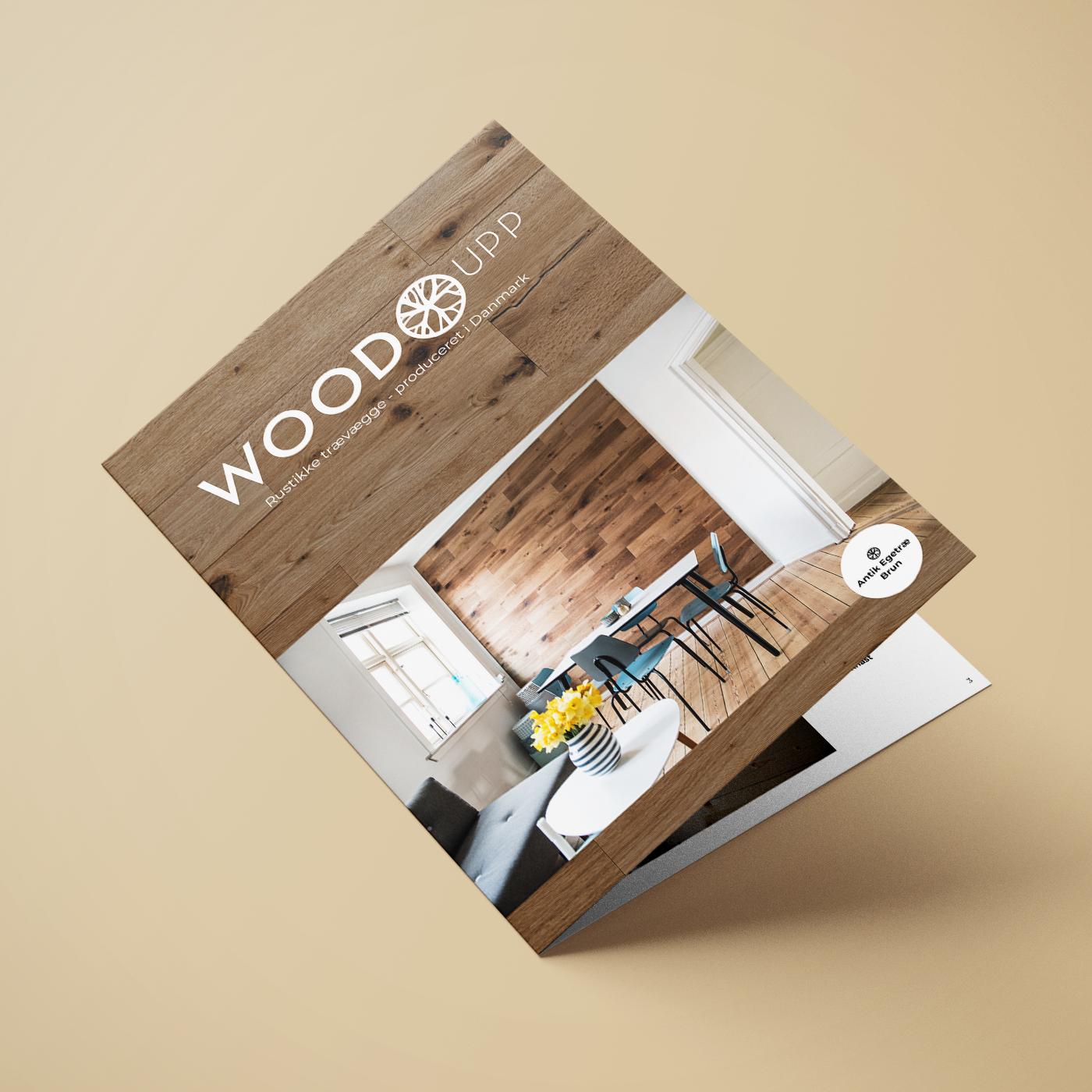 WoodUpp produktbrochure forside